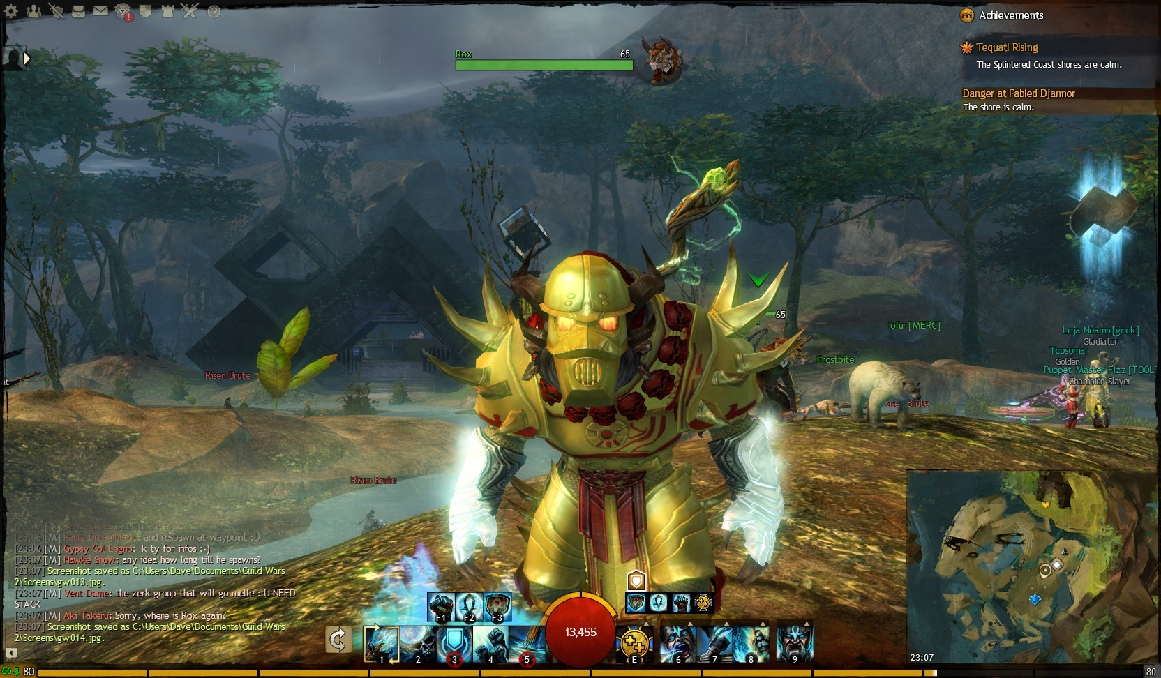 Forum Guild Wars 2 - Notes de mises