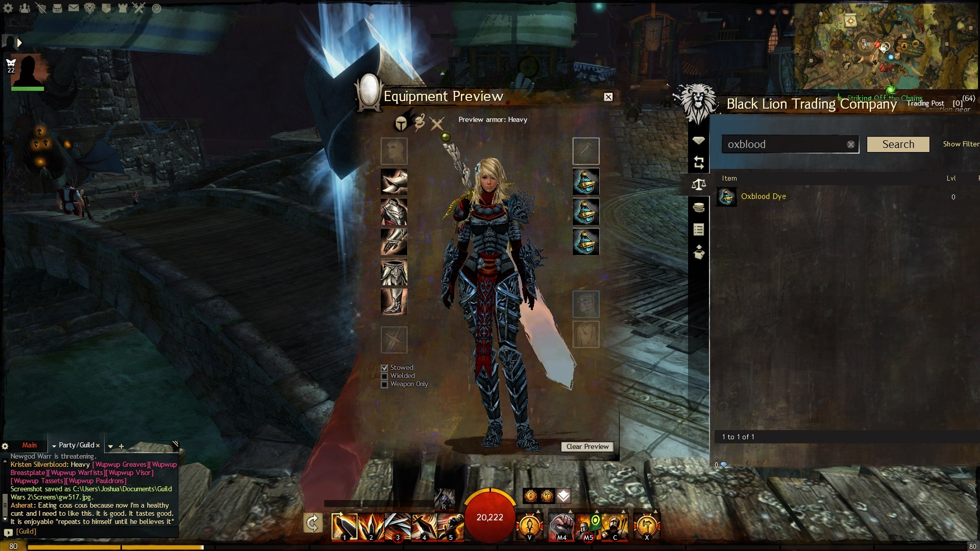 New Ascended Armor Guildwars2