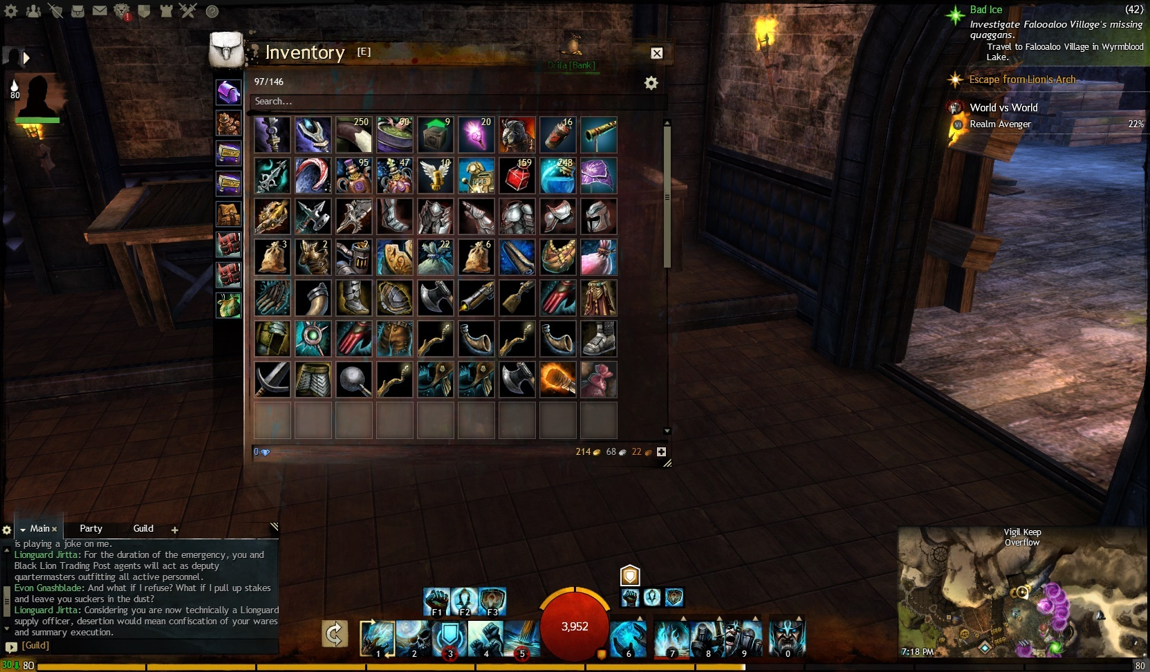 Inventory slots gw2 : Can you play online poker in nj