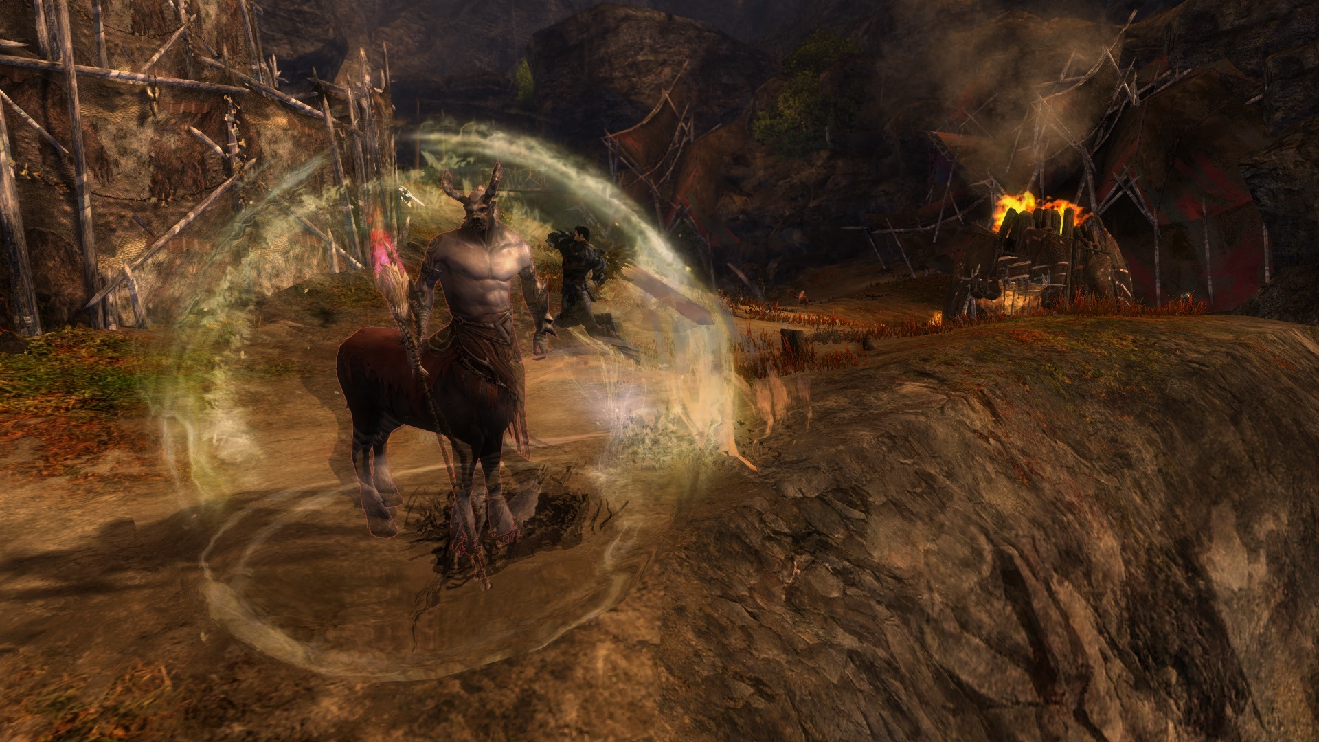 GW2 Magnuss Eye Patch and Thresher-Sickle 5000 in