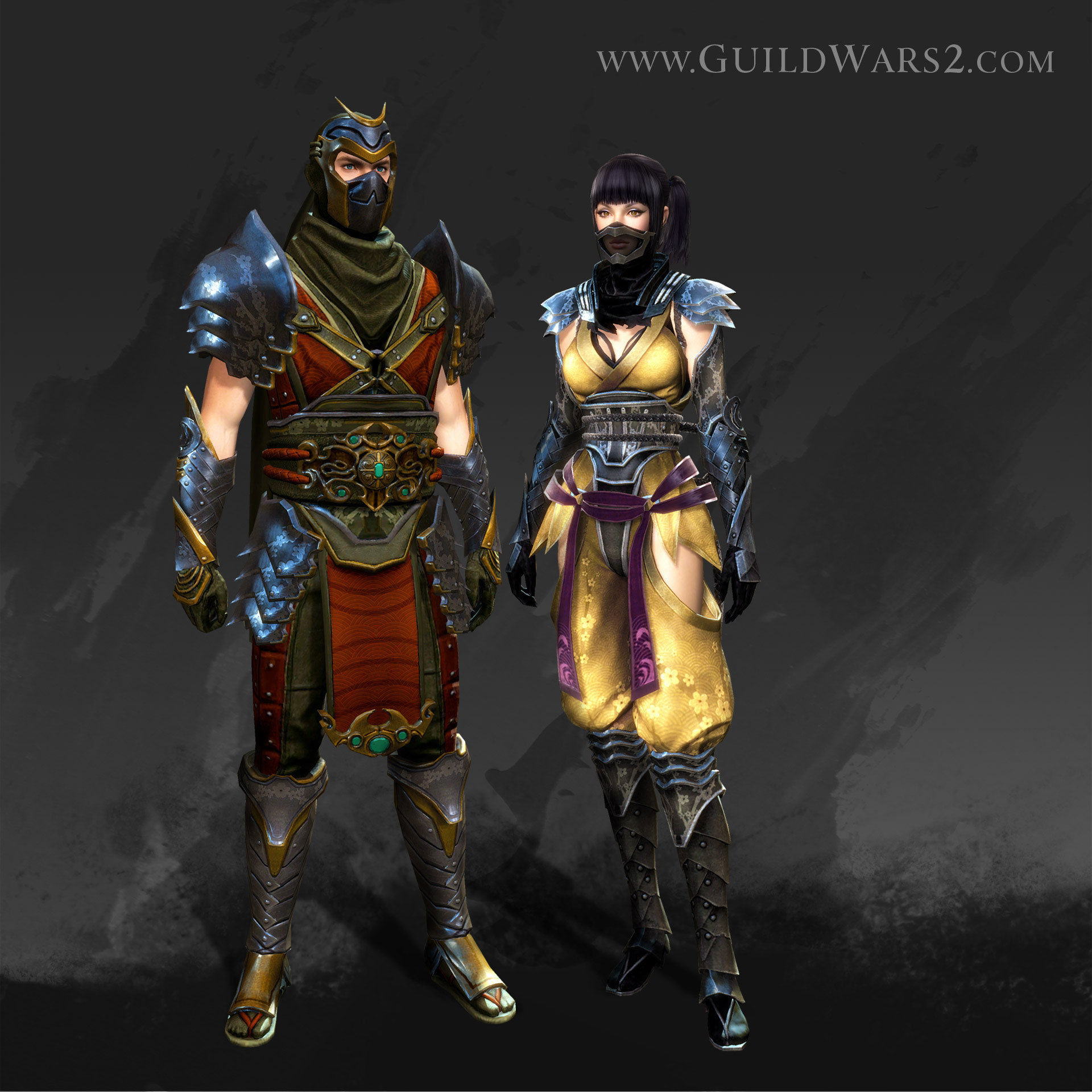 Shadow Assassin Costume - GW2