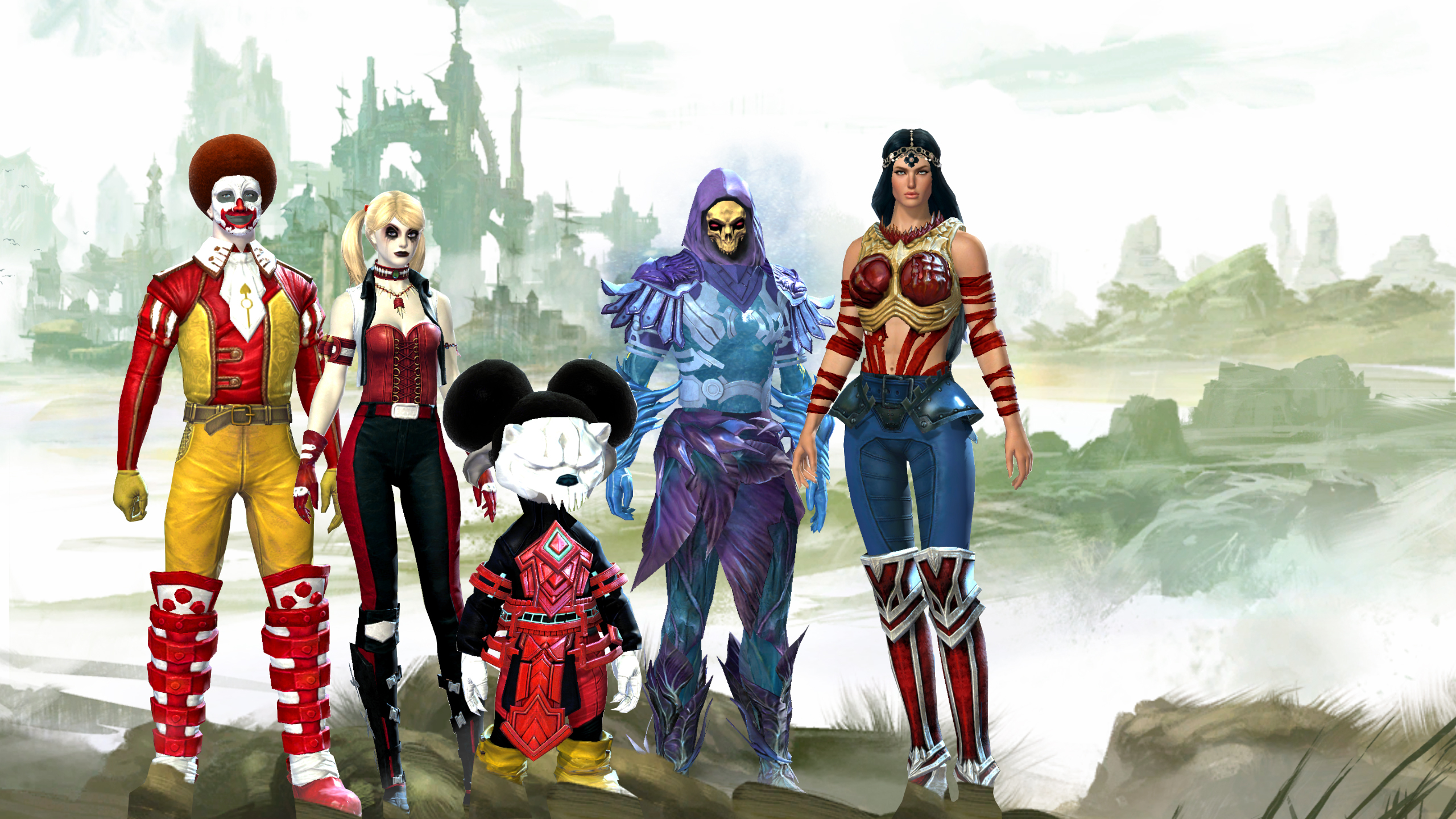 Guild Wars 2 Anime Characters : I see your cosplayin gw and raise you with fate stay