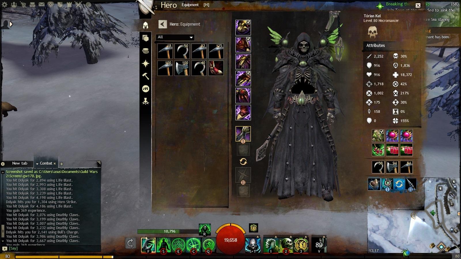 Guild Wars 2 Forum - Necromancer - Question about Lich Form