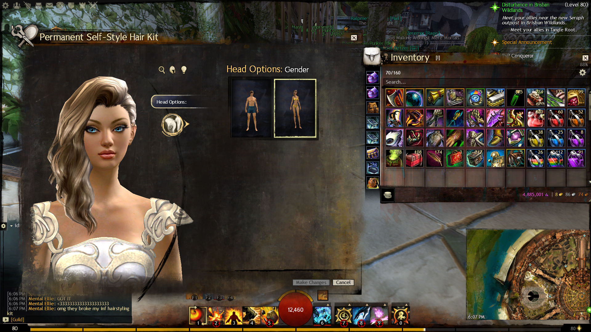 guild wars 2 forum - bugs: game, forum, website - permanent self