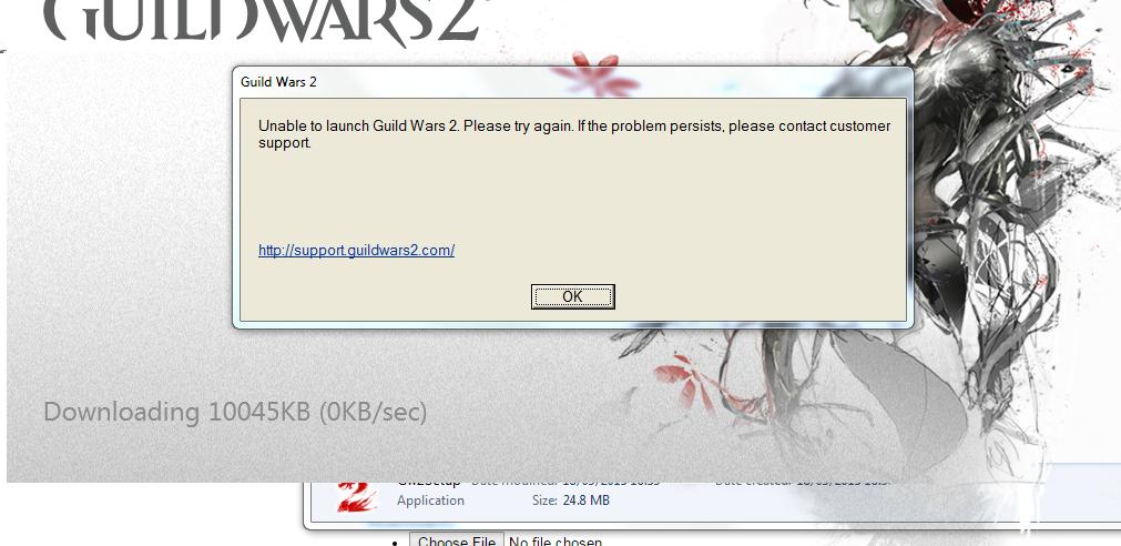 Guild Wars 2 Forum - Account & Technical Support - Guild wars wont ...