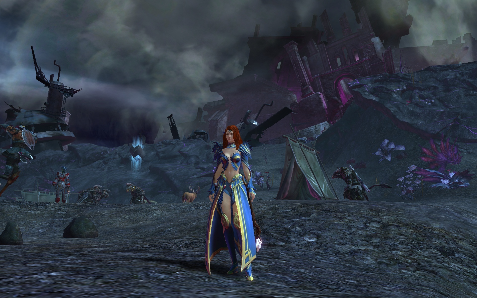 Guild Wars Elementalist Wallpaper Post a Picture of Your