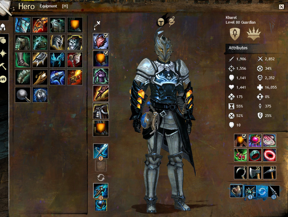 Guild Wars 2 Norn Guardian By: Show Your Favourite Look : Guildwars2
