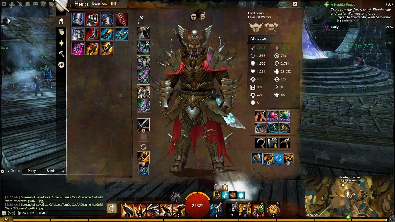 Bag slots guild wars 2