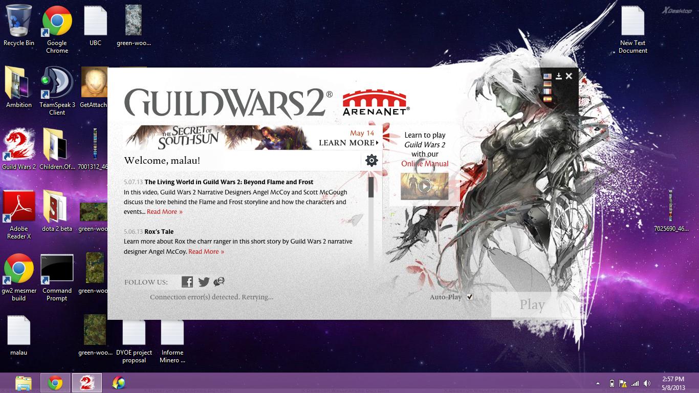 Guild Wars 2ing 0kb
