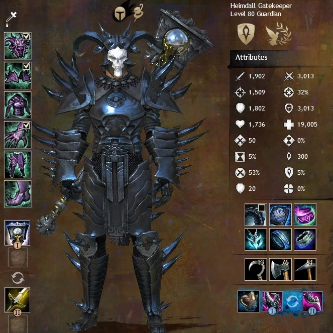 Guild Wars 2 Forum - Guardian - [Guide]30 pts in valor gameplay ...