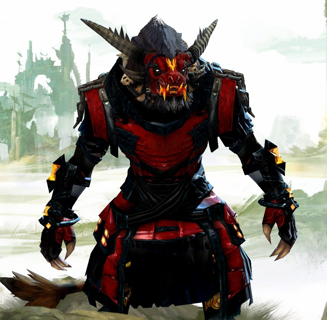Guild wars 2 gw2 darkened desires gw2 fashion - In My Opinion All Charr Armor Is Terrible
